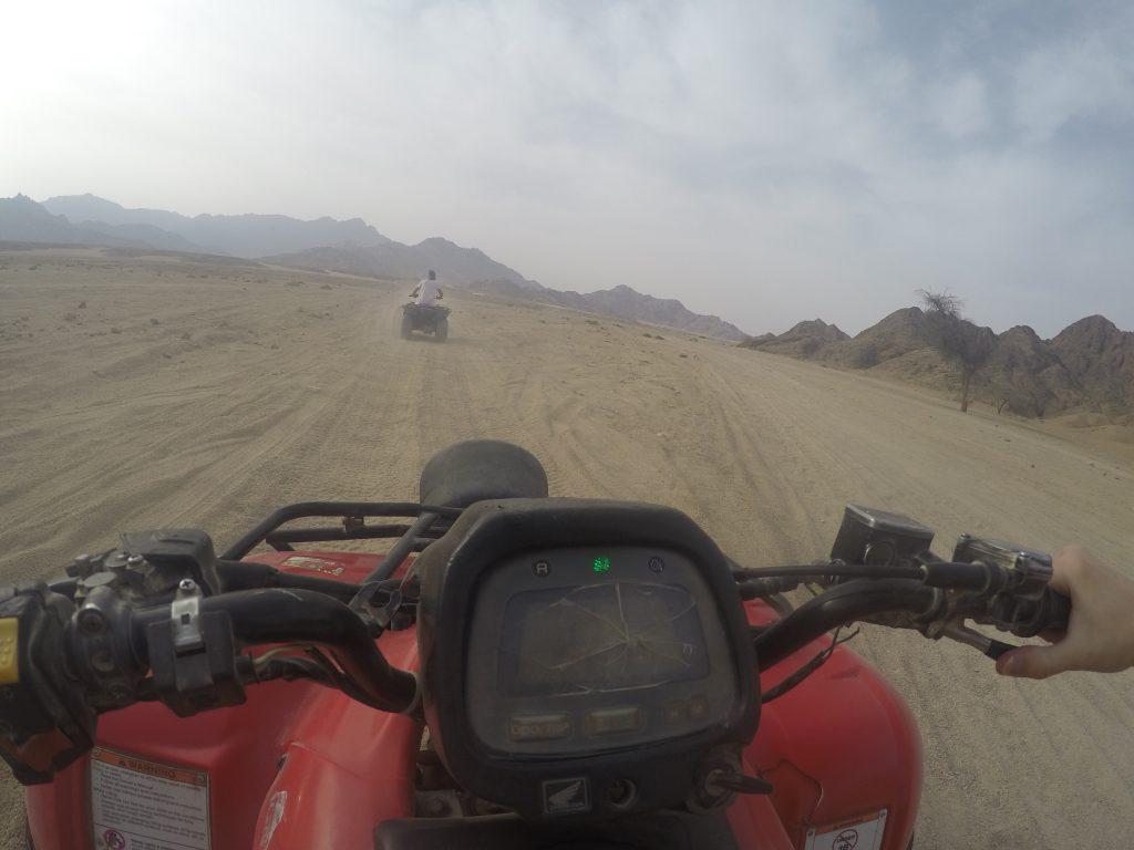Quad Tour in der Wüste
