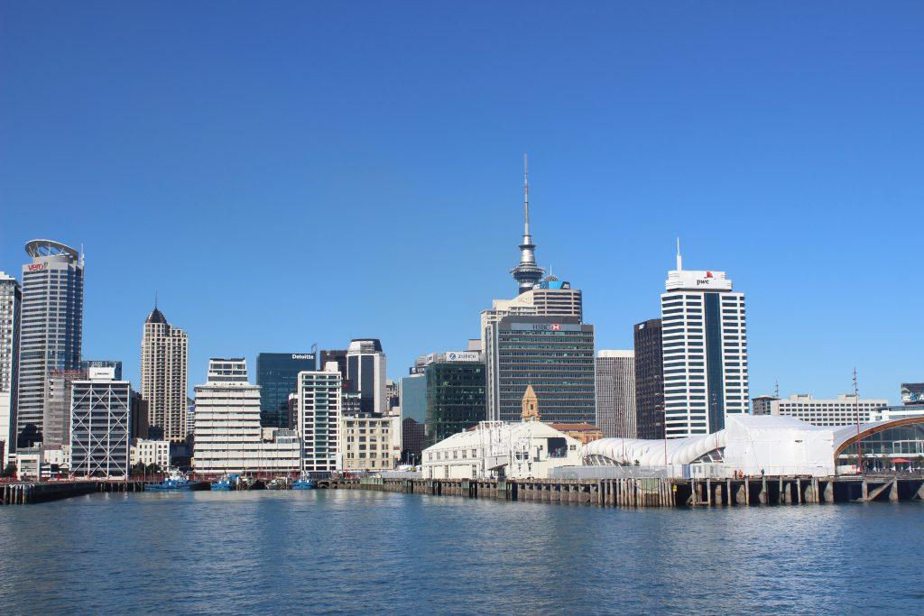 Nordinsel: Hafen von Auckland