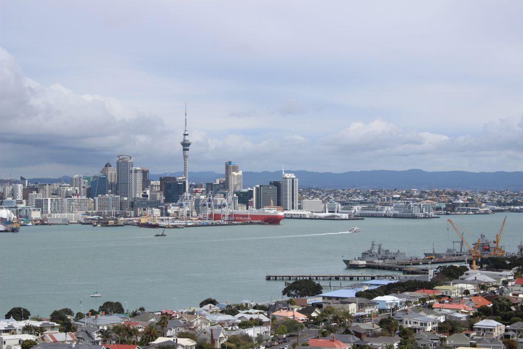 Nordinsel: Auckland, Hauptstadt von Neuseeland