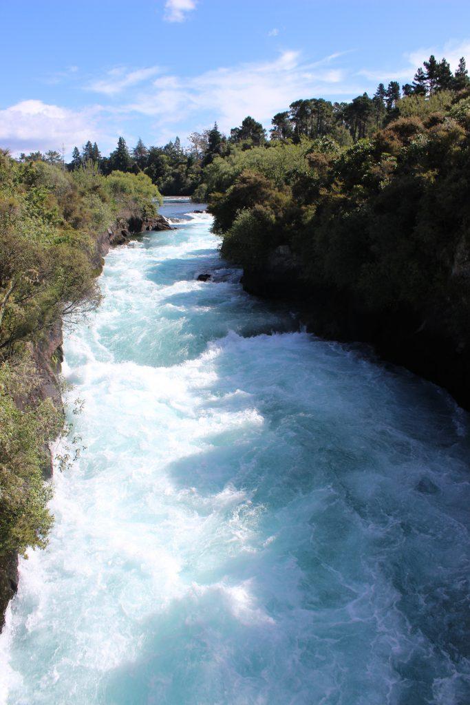 Neuseeland: Huka Falls