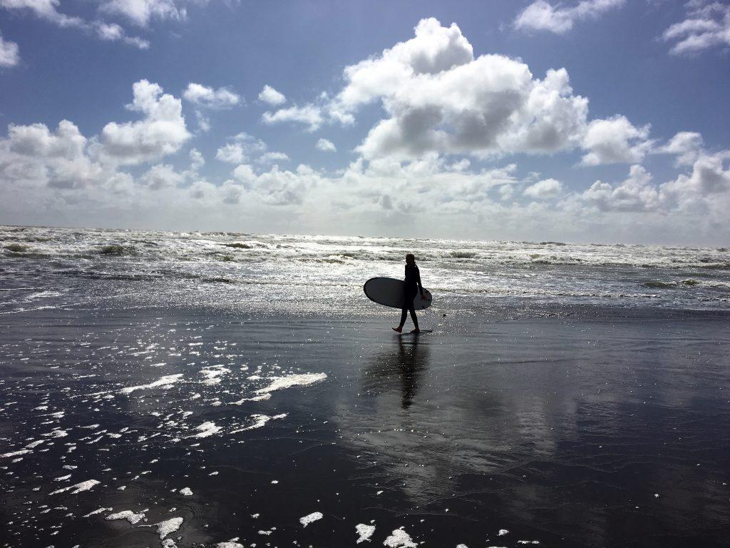 Surfen in Raglan
