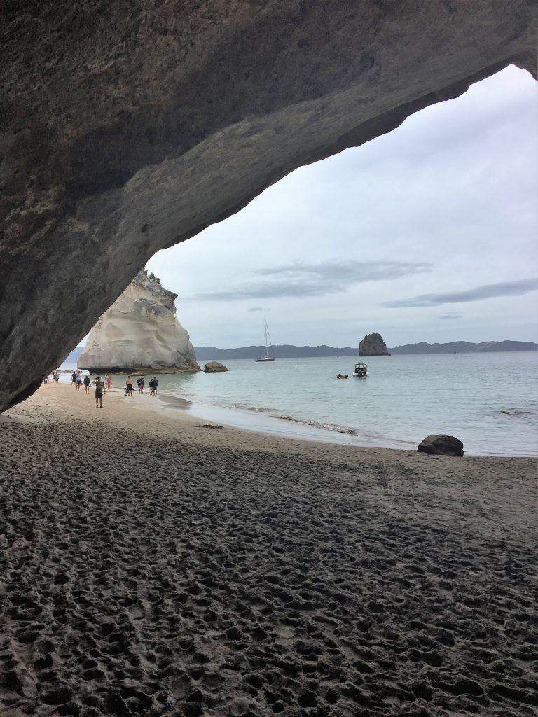 Neuseeland: Cathedral Cove