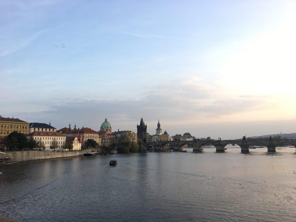water view Prag