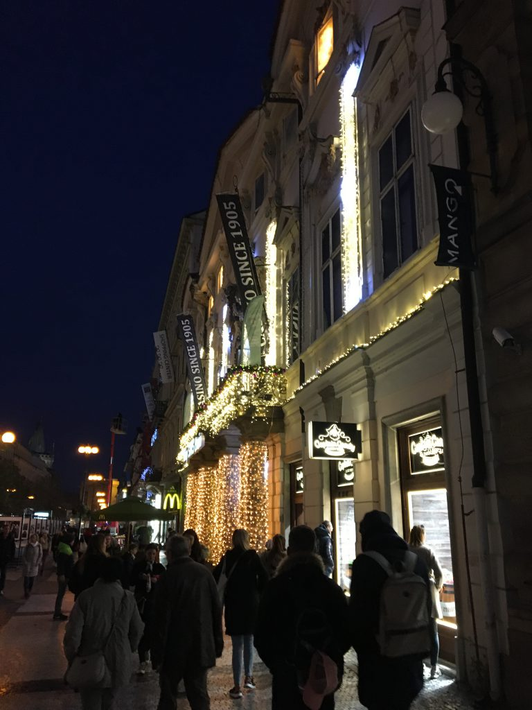 Shopping in Prag