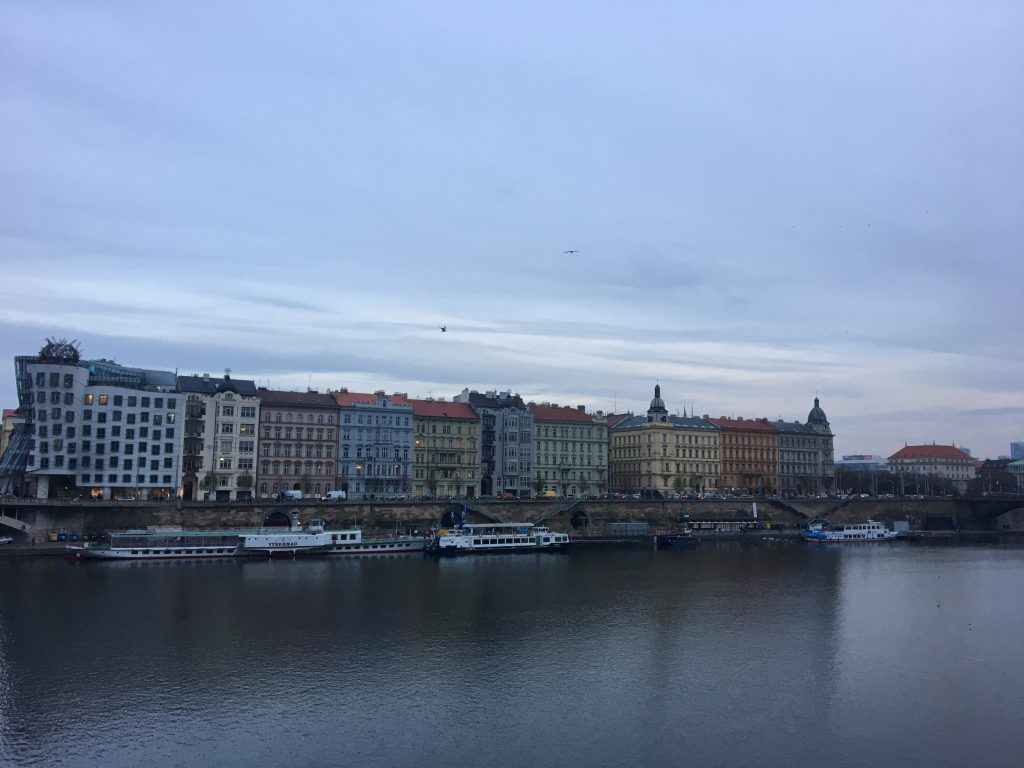 Prag: Sicht von der Karls Brücke