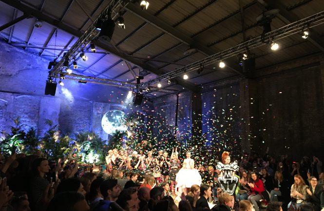 Finale Fashion Week/ Show von Marina Hoefmanseder