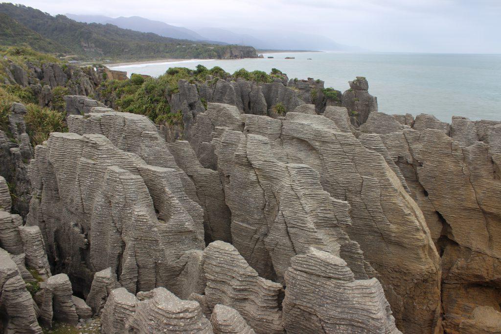 Pancake rocks Südinsel