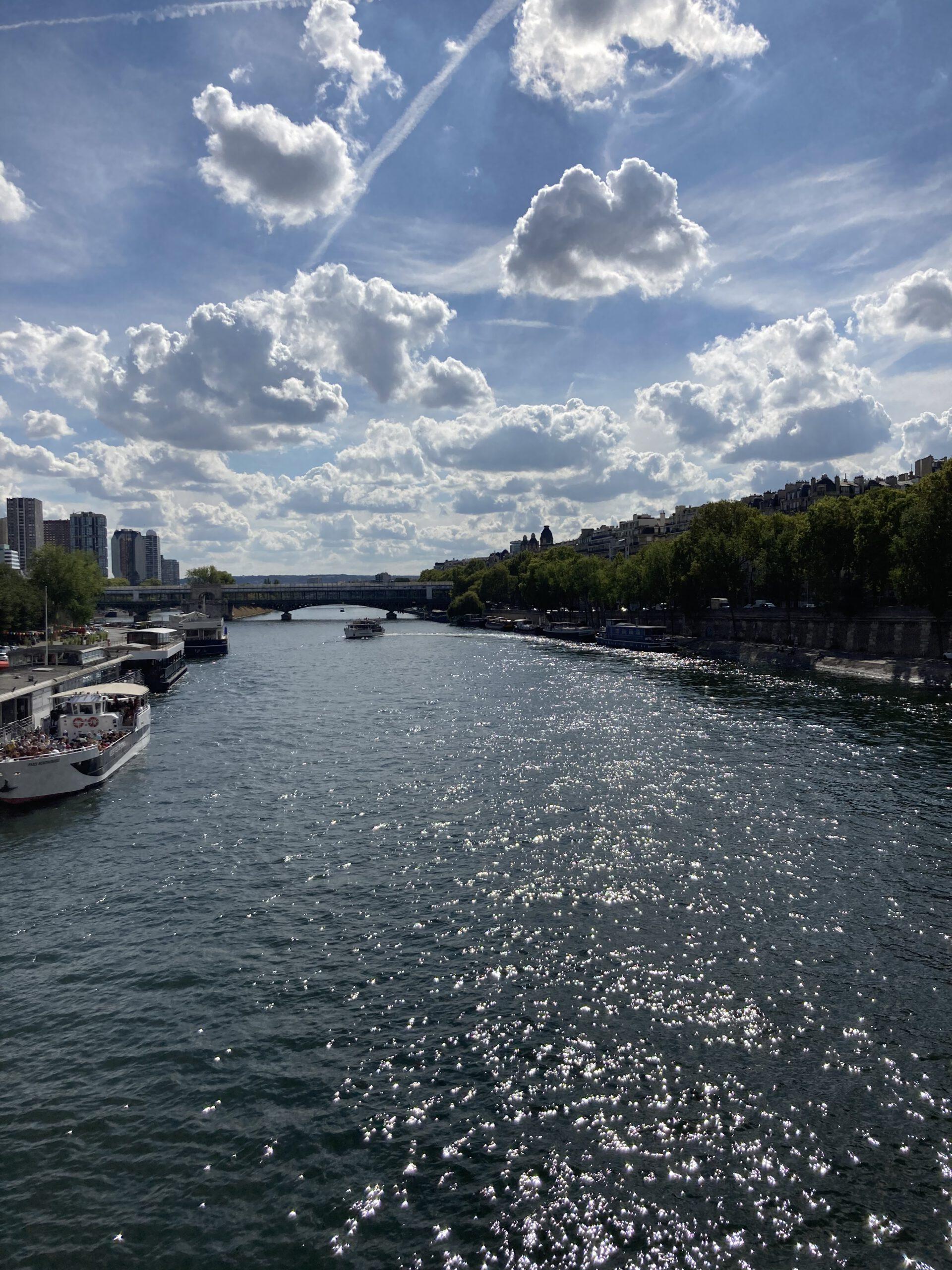 Schiffstour auf der Seine