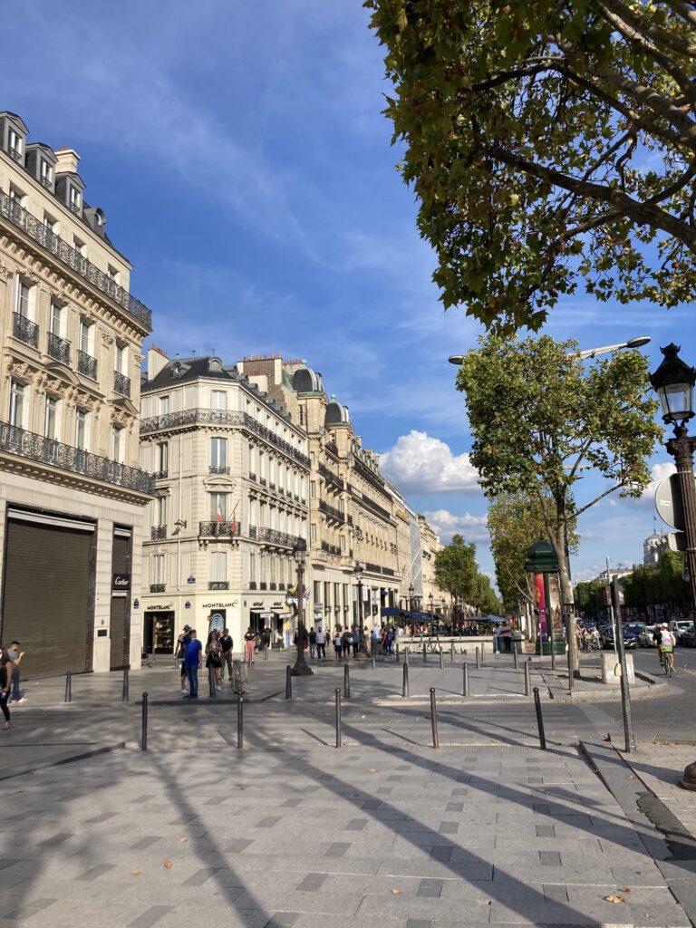 Avenue de Champs Elysée