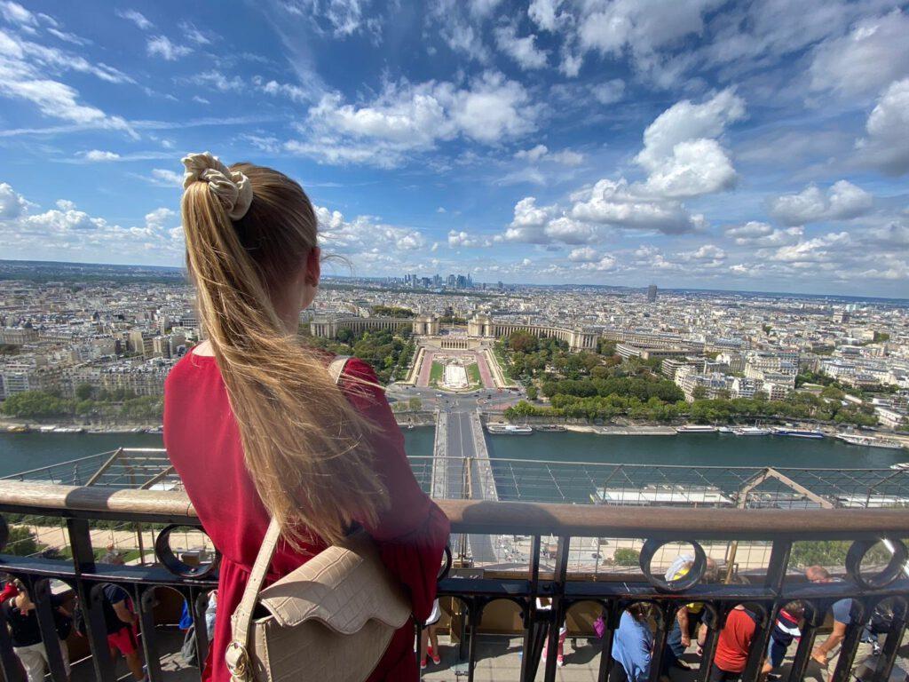Ausblick Eiffelturm