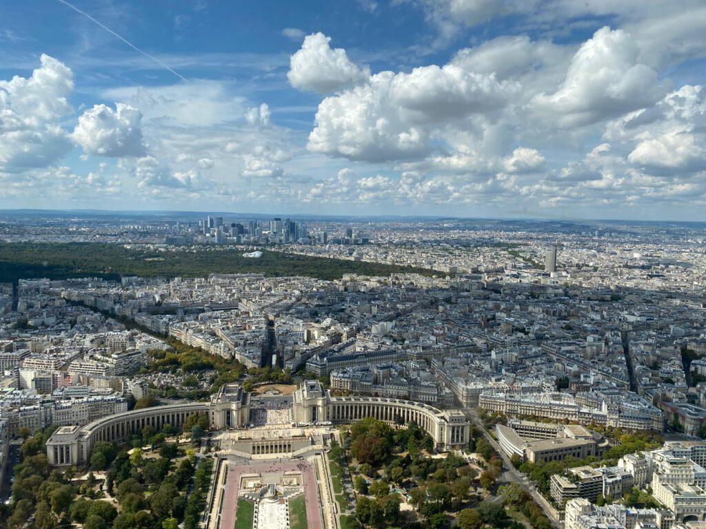 Paris: Sicht vom Eifelturm