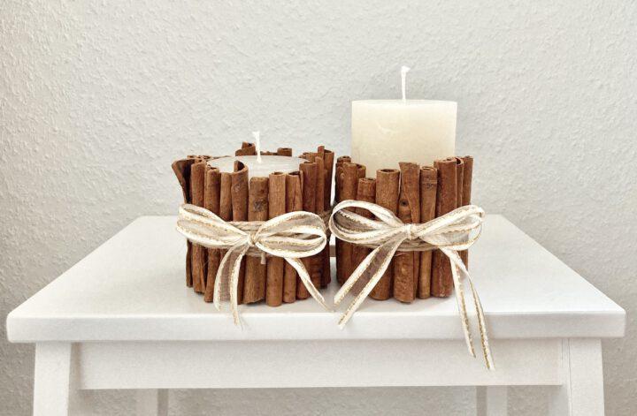 DIY Zimt Kerzen